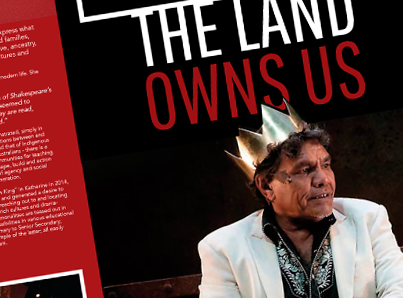 The Land Owns Us – Brochure Design