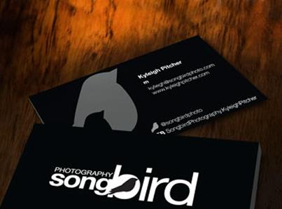 Songbird Photography – Logo/Branding Melbourne