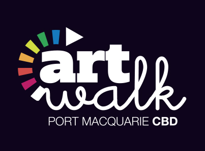 ARTWALK – Port Macquarie Hastings Council-logo graphic design