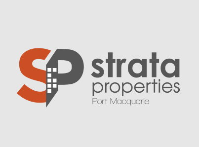 Strata Properties Port Macquarie-Branding logo design